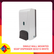 image of Single Wall Mounted Soap Dispenser SD3215-White