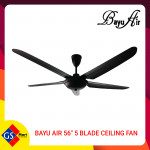 """BAYU AIR 56"""" 5 BLADE CEILING FAN"""