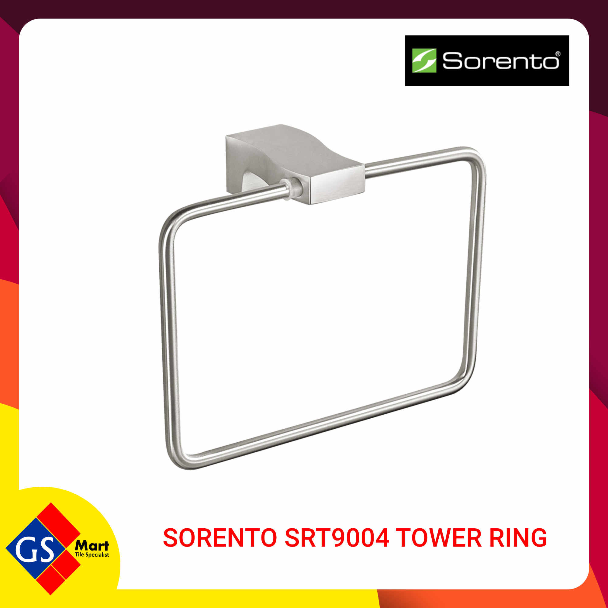 SORENTO SRT9004 TOWEL RING