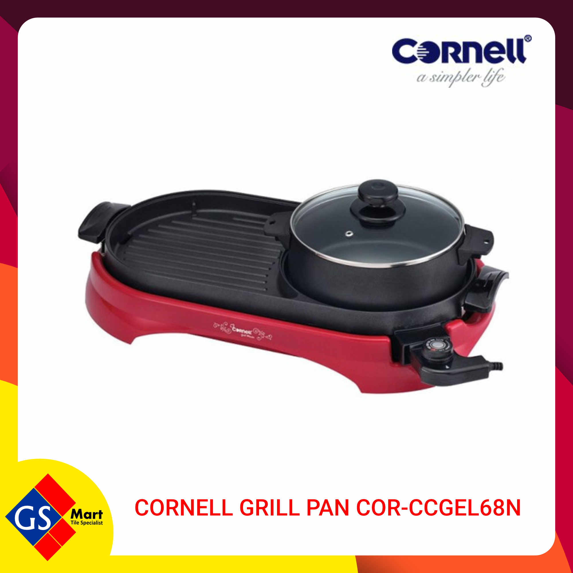 image of CORNELL Grill Pan COR-CCGEL68N