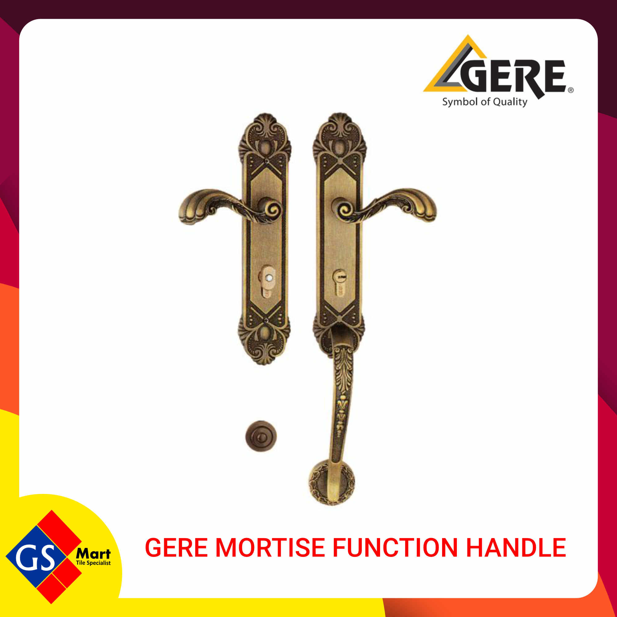 GERE MORTISE FUNCTION HANDLE