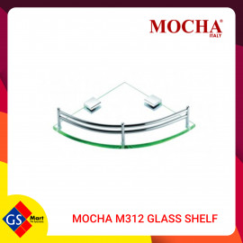 image of MOCHA M312 GLASS SHELF