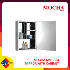 image of MOCHA MMC353 MIRROR WITH CABINET