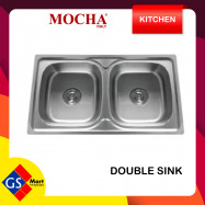 image of Stainless Steel Double Bowl Kitchen Sink