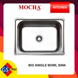 image of Stainless Steel Single Bowl Kitchen Sink