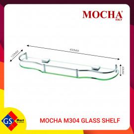 image of MOCHA M304 GLASS SHELF