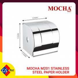 image of MOCHA M201 STAINLESS STEEL PAPER HOLDER