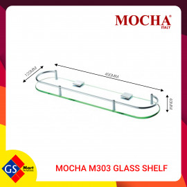 image of MOCHA M303 GLASS SHELF