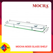 image of MOCHA M305 GLASS SHELF