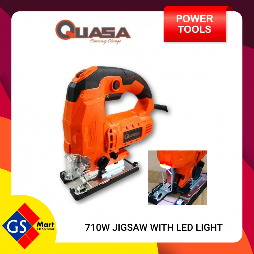 QUASA 710W JIG SAW WITH LED LIGHT