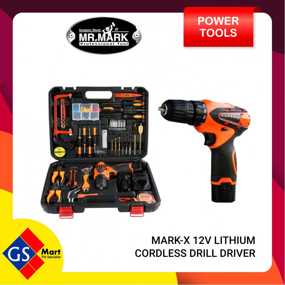 MARK X 12V LITHIUM CORDLESS DRILL DRIVER