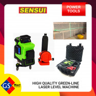 image of Sensui Laser Level 12 Laser Green Line 360° Horizontal Line