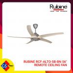 Rubine RCF-ALTO-5BL-BN 56-inch Remote Ceiling Fan