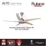 RUBINE ALTO DECORATIVE CEILING FAN 4F+4R speed setting