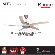 image of RUBINE ALTO DECORATIVE CEILING FAN 4F+4R speed setting