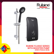 image of RUBINE FLUSSO SERIES WITH BOOSTER PUMP (RWH-FS362A-BCB)