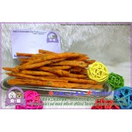 image of Beina Homemade【Okra Salmon Stick】Dehydrated Pets Treats 100gm