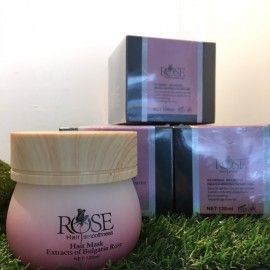 image of Rose Hair Mask - Extracts of Bulgaria Rose