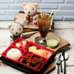 Bento set with drinks & dessert for 1 person