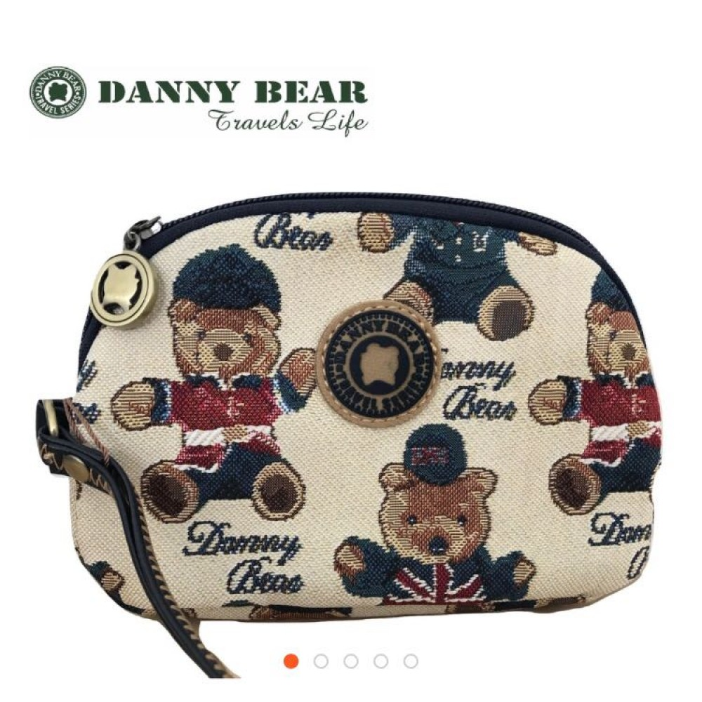 Danny Bear England Series Pouch