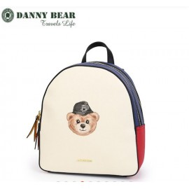image of Danny Bear Jeans Series Korean Style Backpack