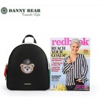 Danny Bear Jeans Series Korean Style Backpack