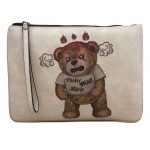 Danny Bear Jeans Series Anger Hand Clutch