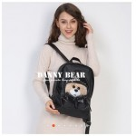Danny Bear Jeans Series Boxing Bear Backpack