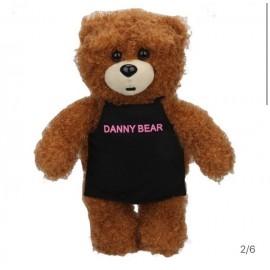 image of Danny Bear Standing Apron Stuffed Bear 30cm
