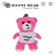 image of Danny Bear Hanging Bear Stand Stuffed Bear