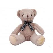 image of Danny Bear Sitting Stuffed Bear 20cm