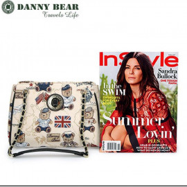 image of Danny Bear Nautical Bear Korean Sling Bags