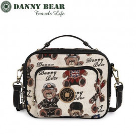 image of Danny Bear Travel Series London Style Sling Bag