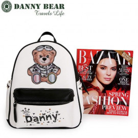 image of Danny Bear Korean Style Limited Edition Backpack
