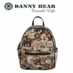 Danny Bear Travel Series Green Elf Backpack