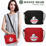 Danny Bear Travel Series Unisex Canvas Sling Bag