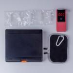AlcoSense Verity Personal Breathalyzer (Navy)