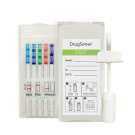 image of 7 drugs Saliva Drug Test Kit DrugSense DSO7 (2-pack)