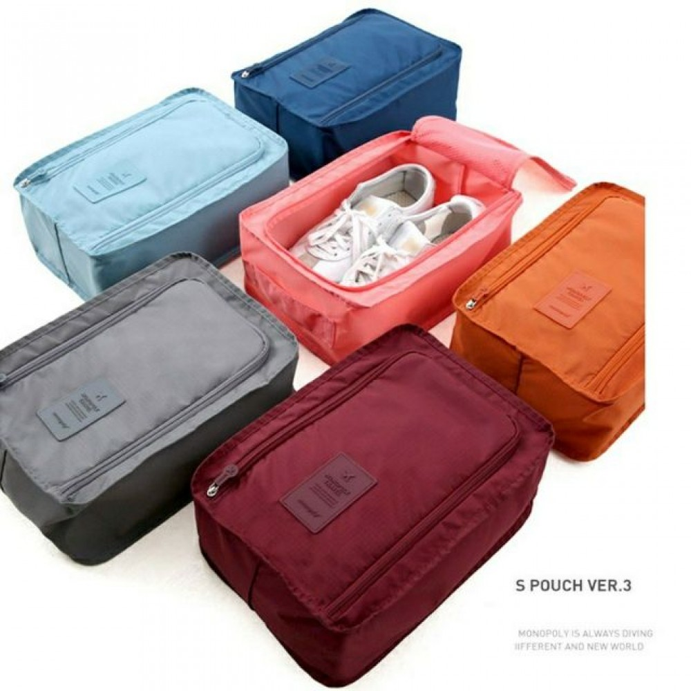 Outdoor Travel Shoes Storage Bag Waterproof Portable Packing Cubes Container