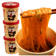 image of 抖音火爆 食人族麻辣 酸辣粉 Sour & Spicy Instant Noodles