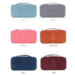 Storage Bag Waterproof Compact Travel Organizer Bra Organizer Toiletry Pouch