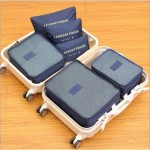6Pcs Korean Style Travel Storage Bag High Capacity Clothes Organization Pouch TSB