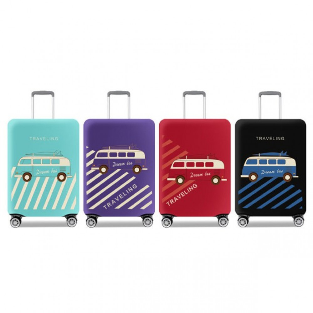 Travel Luggage Suitcase Cover Bag Case Elastic Stretch Dust-Proof Baggage TSB