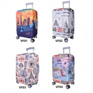 image of Travel Luggage Suitcase Cover Bag Case Elastic Stretch Dust-Proof Baggage TSB