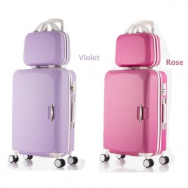 image of Craft4You 20inc 24inc Korean Style Large Capacity Travel Luggage Cabin