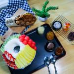 Fruit Jacuzzi + Eggettes