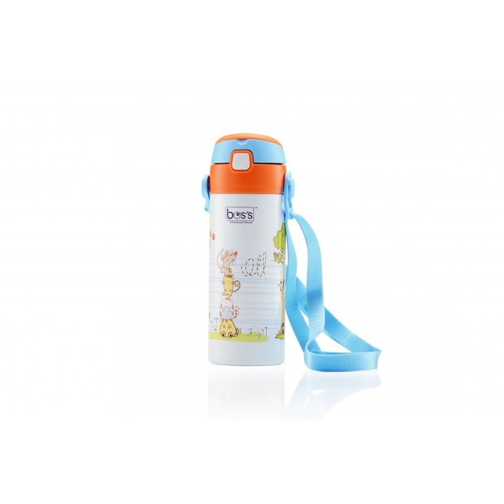 Bos's Elly Vacuum Bottle W/Strap 350ML