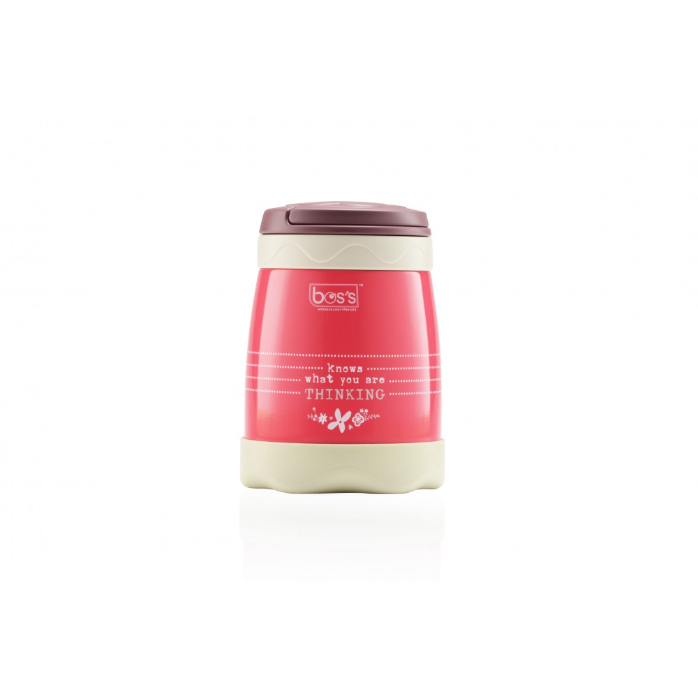 Bos's S/S INSULATED FOOD JAR 500ML