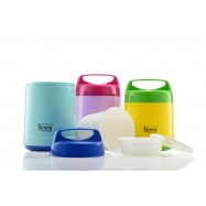 image of Bos's S/S VACUUM INSULATED FOOD JAR 1.00LT