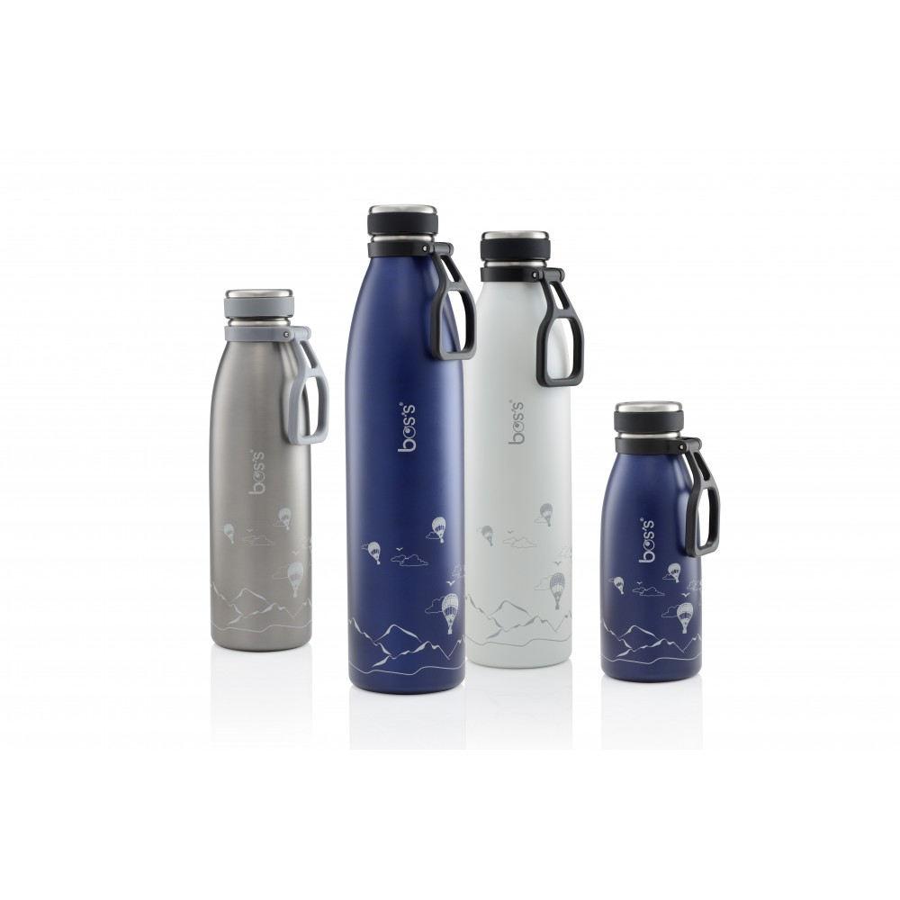 Bos's S/S TRAVEL VACUUM BOTTLE 350ML